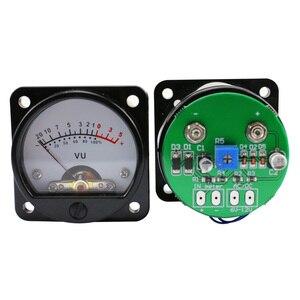 Image 2 - GHXAMP VU Meter Buizenversterker 45mm Pointer LED Level Meter met Achtergrondverlichting voor 3 W 50 W Audio versterker Radio Gal Machine DIY