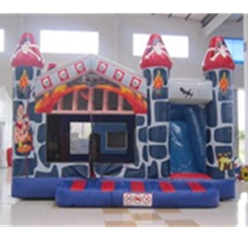 New Large Inflatable Trampoline Cute Castle Cartoon Indoor Outdoor Paradise Casino Naughty Fort Creative Kids Gift Toy L1857