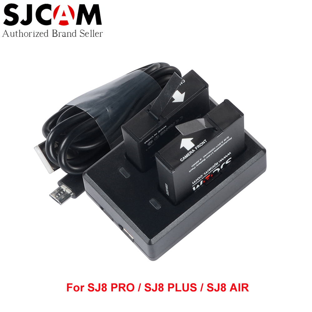 SJCAM SJ8 Series Battery and Charger for SJCAM SJ8 PRO / SJ8 PLUS / SJ8 AIR Sports Action Cameras 53000459