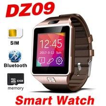 DZ09 Смарт часы Bluetooth SmartWatch вызова sim-tf шагомер Android IOS Smart Браслет Смотреть сенсорный телефон группа 2 Z60 A1 QW09 V8