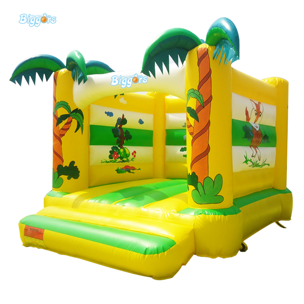 Mini Inflatable Bouncy Castle Jumping Bounce House Kids Bouncy Castle For Kids With Blower yard inflatable jumper bouncy castle nylon bounce house jumping house trampoline bouncer with free blower for kids