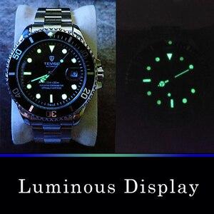 Image 2 - Tevise ブランド男性機械式時計腕時計自動有名なデザインのファッションの高級ゴールド時計 horloges 万年レロジオ masculino