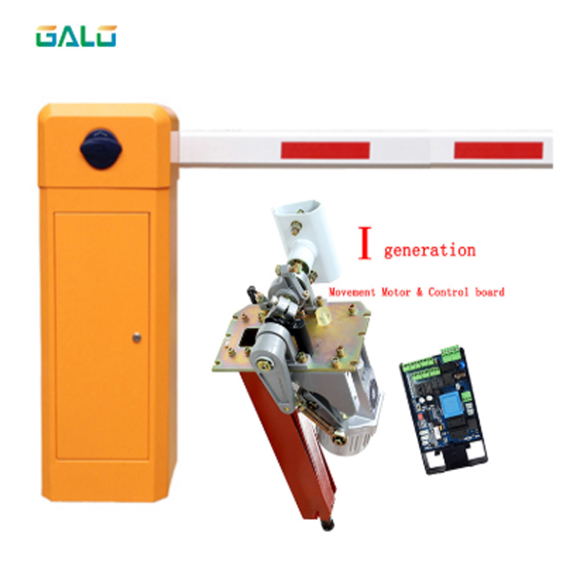 Electric Car Parking Boom Barrier Gates With Opening Time 6 Second DIY 3-5.3m Boom Parking Barrier  Boom Barrier Parking  Lock
