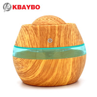 300ML USB Aromatherapy Essential Oil Diffuser Car Portable Mini Ultrasonic Cool Mist Aroma Air Humidifier For