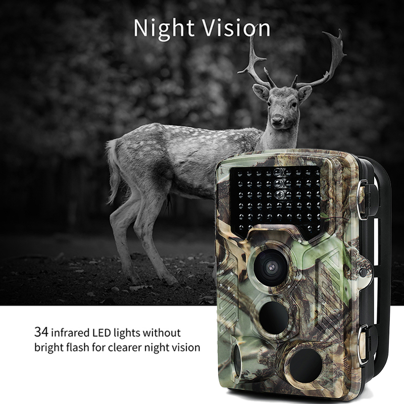12MP Photo Traps 1080P Infrared Night Vision Hunting Traps XT-454 Wild Hunting Camera Trail Camera Wildlife Camera chasse12MP Photo Traps 1080P Infrared Night Vision Hunting Traps XT-454 Wild Hunting Camera Trail Camera Wildlife Camera chasse
