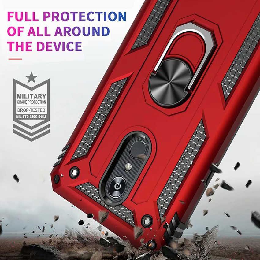 עמיד הלם מקרה עבור LG Stylo 5 K40 K12 + K50 צבאי תעשיית סיליקון מקרה עבור LG K12 בתוספת Q60 X4 2019 טלפון מקרה כיסוי מעטפת