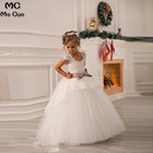 2018 Kids Pageant Dresses For Little Girls first communion dresses for girls Lace Flower Girl Dresses Baby Girl Tutu Dress