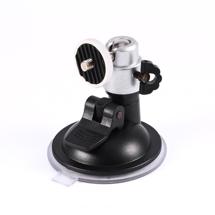 "<font><b>Windshield</b></font> <font><b>Suction</b></font> <font><b>Cup</b></font> 1/4""Ball Head <font><b>Mount</b></font> Holder for Vehicle Car Camera DVR GPS for Gopro Hero 4/3+/3 Camera Accessories"