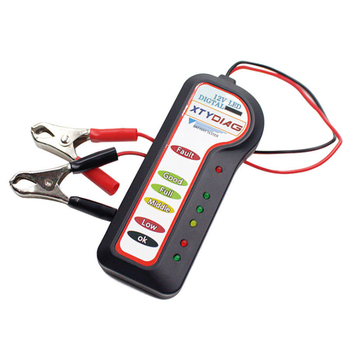 12V LED Car Battery Load Tester Alternator Analyzer Diagnostic Tool Auto Scanner Tool image