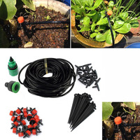 Water Irrigation Kit Set Automatic Micro Drip Watering System Plant Garden Tool
