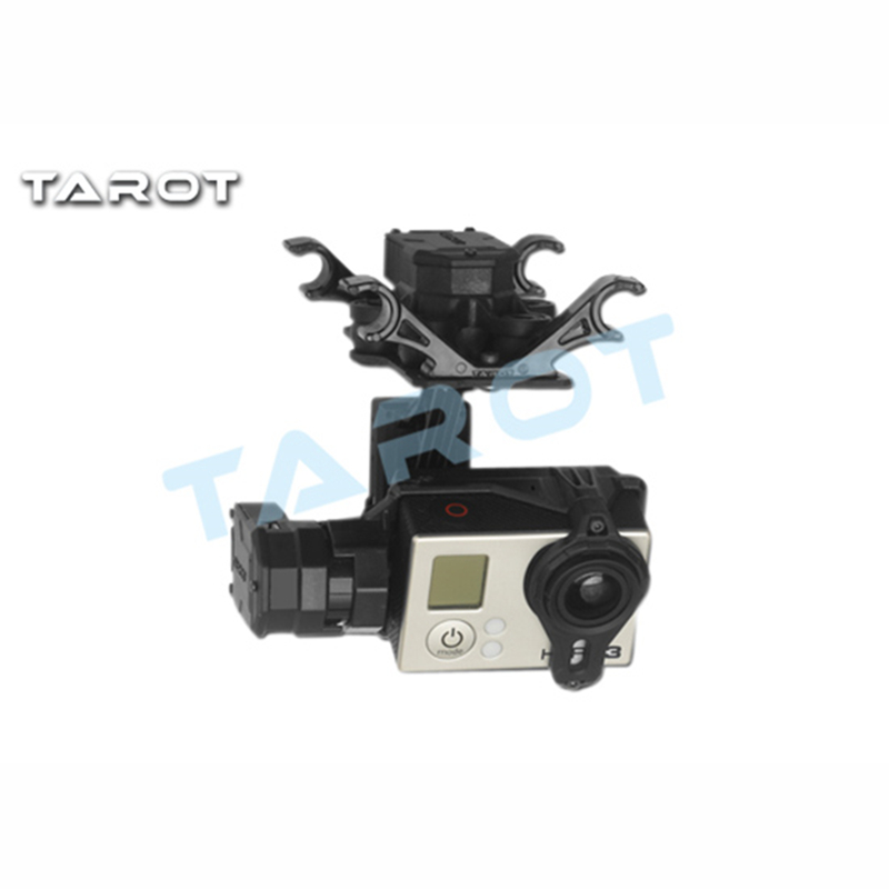 Tarot-RC TL3D01 T4-3D 3-axis Brushless Gimbal for GOPRO GOPRO4/GOpro3+/Gopro3 FPV Photography upgrade debugging edition jiyi fpv g3 3d 3 axis gimbal for gopro hero3 3 hero4 aerial photography