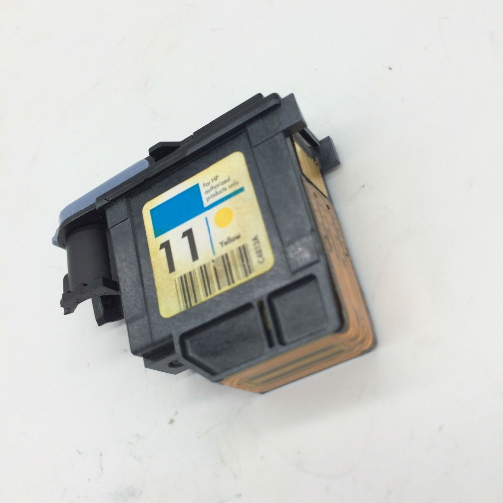 11 Yellow Printhead C4813A for HP 1000 1100 1200 2200 510 800 110 800 k850 120 100 2280 2300 2600 2800 CP1700 100 500