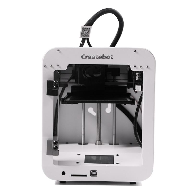 CreateBot coloré SuperMini 3D Imprimante Écran Tactile boîtier Métallique 3d imprimante Haute Précision 3D Drucker Impresora 3D