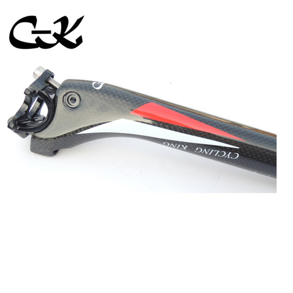 Specials! 2015 new arrive cycling king c-k white red back seat post  all-carbon fiber seat tube  road /mountain bike top  parts specials 2015 new arrive cycling king c k white red back seat post all carbon fiber seat tube road mountain bike top parts