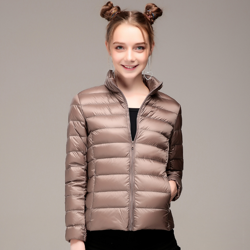 Women's Winter Down Jackets 2018 New 90% White Duck Down Coat for Woman Ultra Light Female Jacket Parkas Casaco Feminino