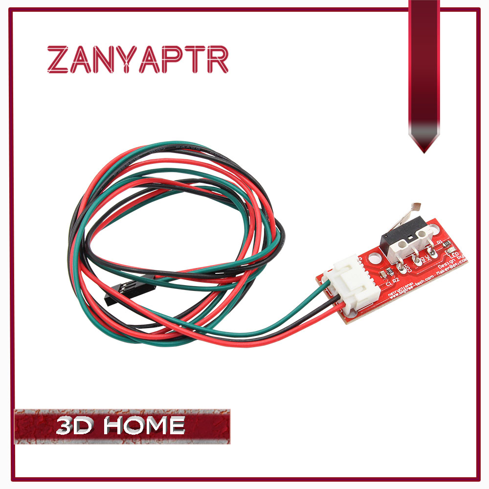5//10 Mechanical End Stop Limit Switch Module With Cable For 3D Printer RAMPS 1.4