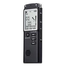 Профессиональный диктофон 8 ГБ, 16 ГБ, 32 ГБ, USB, 96 часов, диктофон, цифровой Аудио Диктофон с встроенным микрофоном VAR/VOR