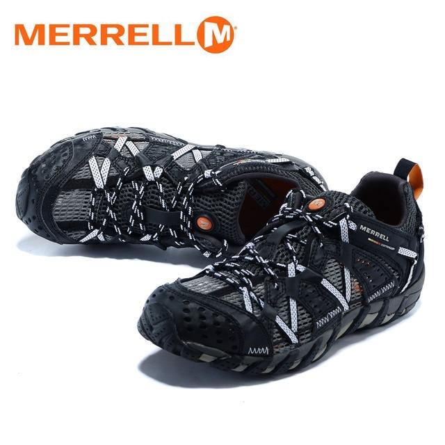 Classic Merrell Luce Originale Uomini di Campeggio Esterna di Sport Scarpe  Da Trekking Per Uomo Alpinismo 7868ab63abb