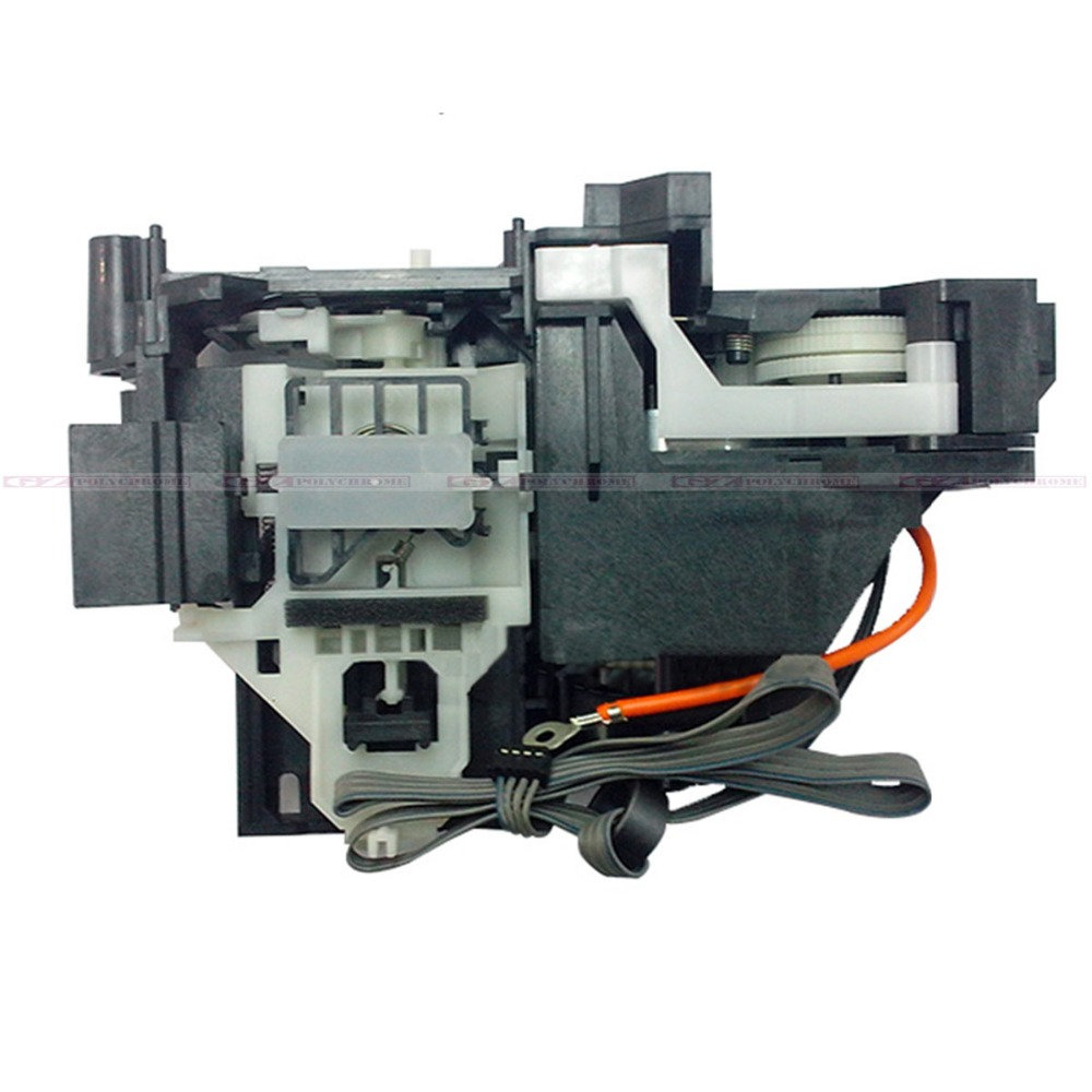 New Original Ink Pump Station for Epson T1100 T1110 B1100 ME1100 Printer Print Head Clean Assembly Ink System Unit 2pc original new waste ink tank ink pad sponge maintenance box for epson t1110 t1100 me1100 b1100 1100 l1300 tray porous pad