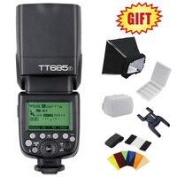 Godox tt685 tt685f 2.4 г Беспроводной E TTL II HSS 1/8000 s Вспышка Speedlite для Fujifilm DSLR камера