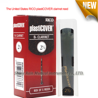 The United States RICO PLASTICOVER Clarinet Reed 2 5 3 0 3 5 Box Of 5