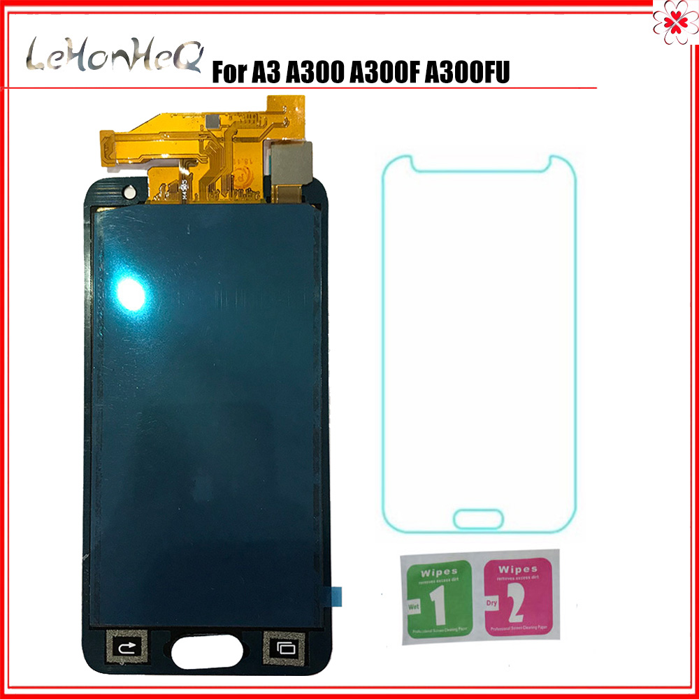 For <font><b>Samsung</b></font> <font><b>A300</b></font> Galaxy A3 A300F A300FU A300G A300HQ A300M <font><b>LCD</b></font> Display Touch Screen Digitizer Assembly For <font><b>samsung</b></font> <font><b>A300</b></font> display image
