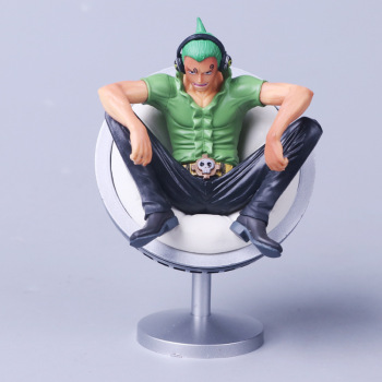 11cm Anime One Piece Vinsmoke Family Reiju Sanji Yonji Sitting Posture Action Figure Toy