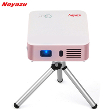 Noyazu E05 Home DLP Projector 1500 Lumens Support Airplay Miracast for IOS & Android 1G+8G AC3 Bluetooth WIFI Mini Proyector