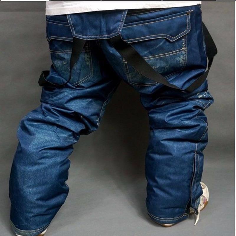 Hot Style!free Shipping  The New 2019 Men's Ski Pants, Waterproof Windproof Snowboarding , Straps Ski Pants Outdoor Men Ski