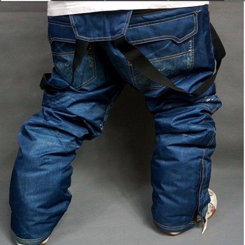 Style chaud! livraison gratuite le nouveau pantalon de Ski pour hommes 2019, imperméable coupe-vent snowboard, sangles pantalon de Ski en plein air hommes Ski