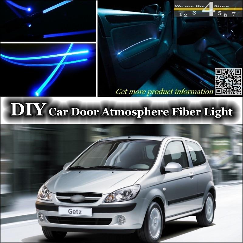 Deftig Voor Hyundai Getz/prime/klik/tb/brisa Inokom Interieur Omgevingslicht Tuning Sfeer Glasvezel Band Lichten Deur Panel