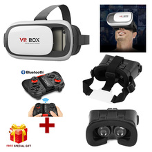 VR BOX II 2.0 Version VR Virtual Reality 3D Glasses for iPhone5s 6 6s 6plus 7 7 plus+Bluetooth Gamepad for iPhone 6plus 7 7 plus