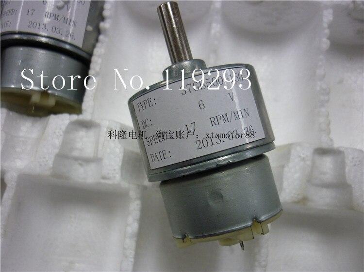 [JOY] 37MM geared motors RF-500 miniature electric gear motor toy cash registers display model --10PCS/LOT
