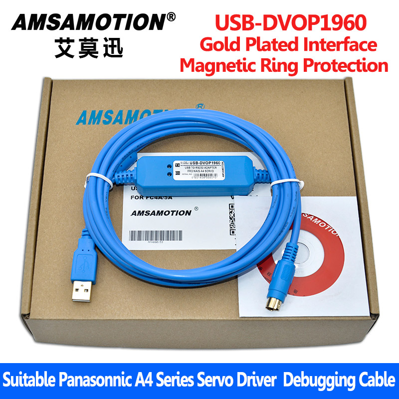 Suitable Panasonnic A4 Series USB-DVOP1960 Servo Driver Communication Debugging Cable communication cable for servo drive mr cpcatcbl3m cable mr j2s a