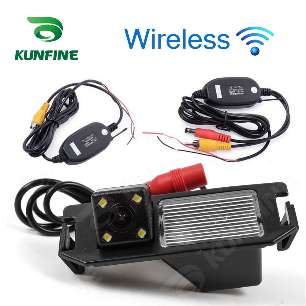 HD Car Wireless Rear View Camera For Hyundai I30 Camera Reverse Backup Camera Parking Assistance Camera Night Vision LED Light