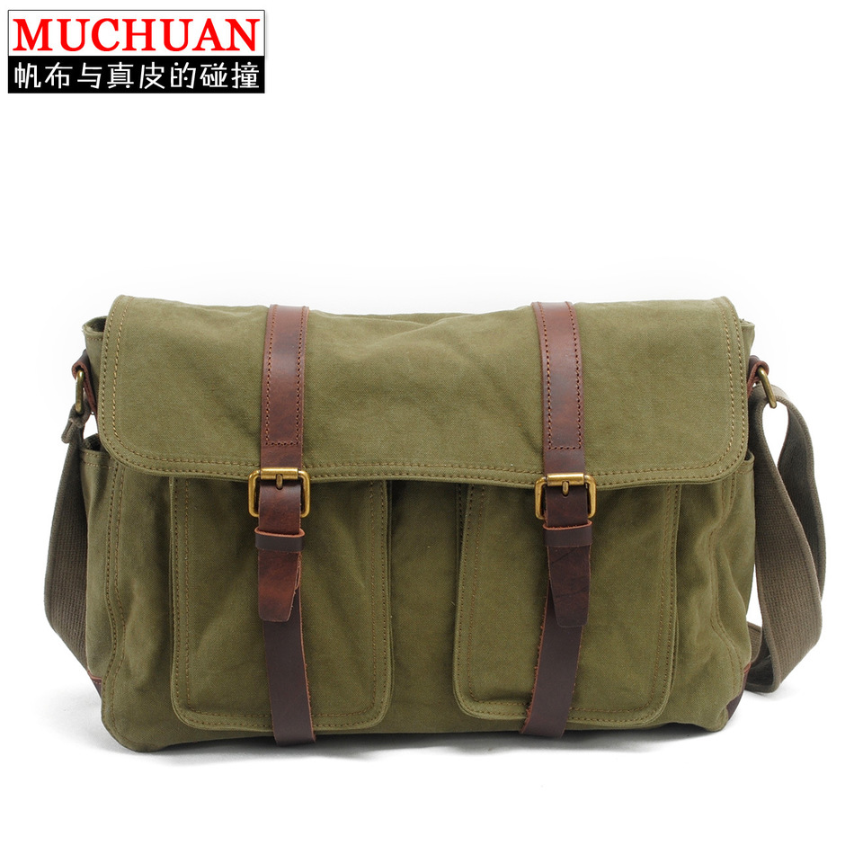 New Single Shoulder Package Canvas Super Capacity Diagonal Package Restore Ancient Ways Leisure Time Male Package Male Package  muchuan cloth 2014 european restore ancient ways trend man single shoulder package diagonal package ma am leisure time package