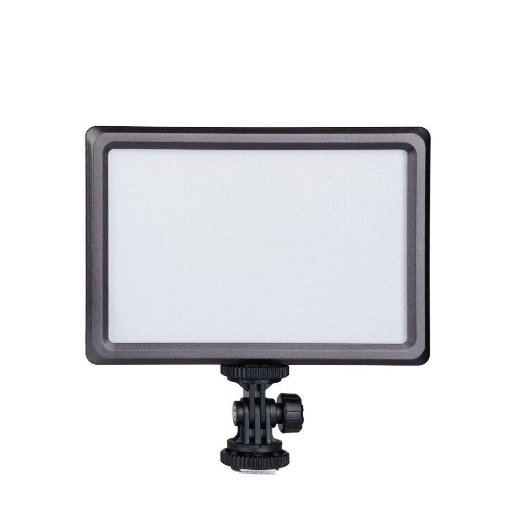 NanGuang CN LUXPAD22 Ultra Thin 112 LED Video Light 5600K /3200K On Camera Light Pad for Canon Nikon DSLR DV Cameras