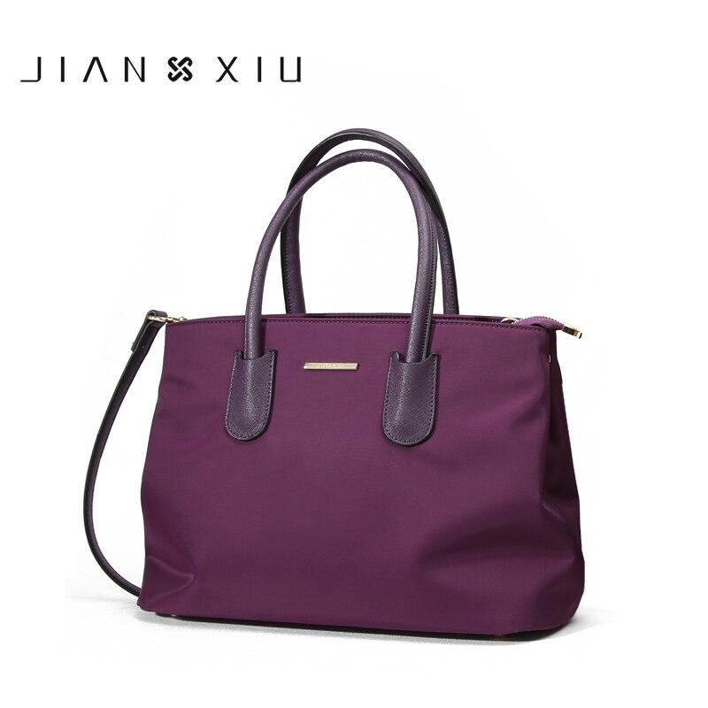 JIANXIUBrand Fashion Women Handbag Bolsa Feminina Luxury Handbags Women Bags Designer Sac a Main Oxford Shoulder