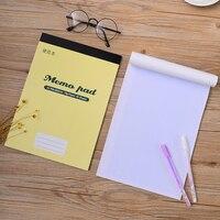 Simple A4 papel rejilla Cuadernos de notas oficina de la escuela papelería nota libro del diario escritura estudiante fuentes del regalo