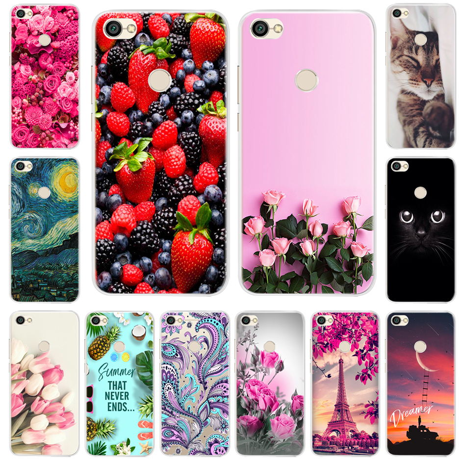 Silicone Case For Xiaomi Redmi Note 5A Pro 32GB 64GB Soft TPU Cover For Redmi Note 5A 16GB Phone Case Redmi Note 5A Prime Coque in Fitted Cases from Cellphones Telecommunications
