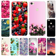 все цены на Silicone Case For Xiaomi Redmi Note 5A Pro 32GB 64GB Soft TPU Cover For Redmi Note 5A 16GB Phone Case Redmi Note 5A Prime Coque онлайн