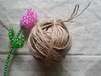 1kg/roll 1/2/3/4wires twisted Diameter 0.5/1/1.5/2/3/3.5mm brown jute rope for DIY label wires , baker boxes gift packing