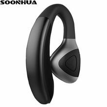 SOONHUA Universal Stereo Bluetooth Earphone Music Earbud Mini V4 1 Wireless Handsfree Sport Headphone With Replaceable