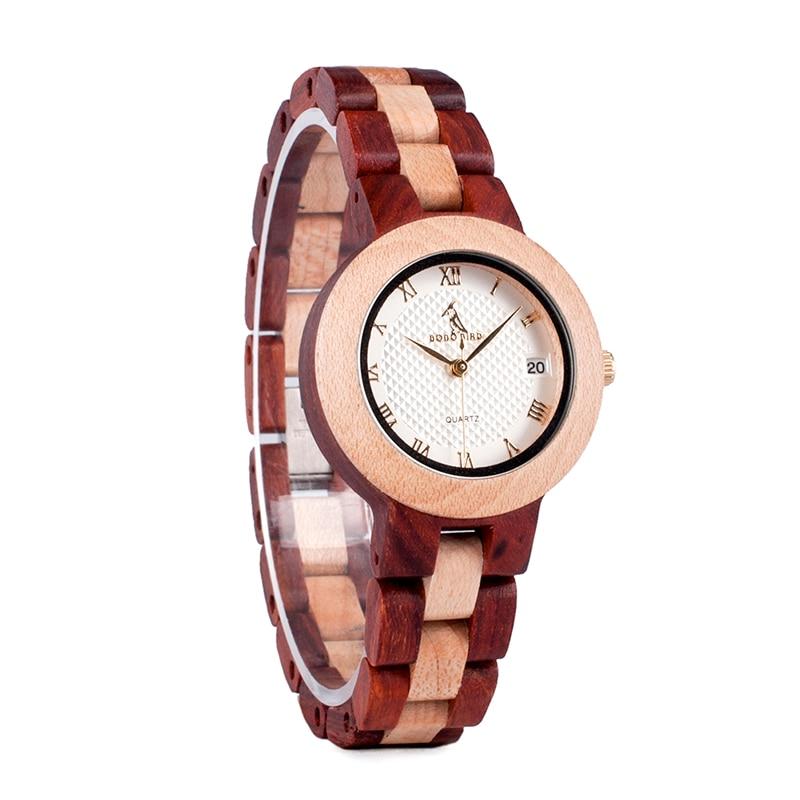 Luxury Brand BOBO BIRD Watches Full Wooden