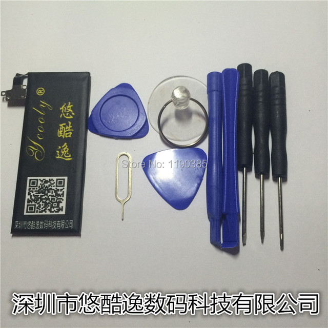 Goods in stock Mobile phone battery For APPLE iphone 4S  1440mAh Give disassemble tool High quality Super long standby