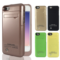 2200mAh External Smart Battery Charger Case Power Bank For IPhone 5 5C 5S SE Backup Battery