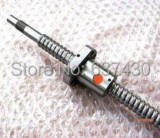 1 sztuk brand new SFU1204 śruba pociągowa L330mm + 1 sztuk pojedynczego orzecha włoskiego łożyska + obróbki końcowej dla CNC