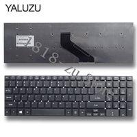 YALUZU 미국 영어 키보드 Acer Aspire ES1-512-C88M ES1-520-39SQ 용 프레임 없음