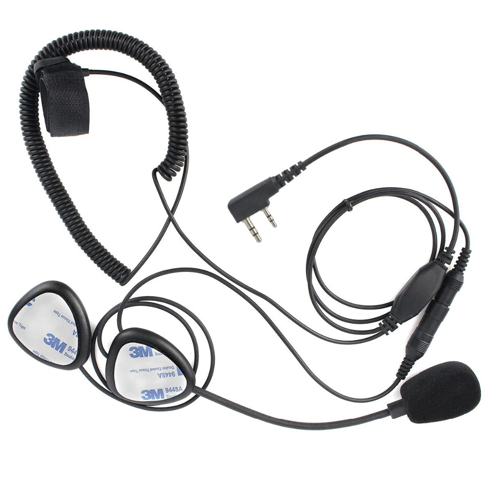 Upgrade finger ptt motorrad helm headset mic für kenwood tyt baofeng uv-5r retevis h777 puxing walkie talkie c2242a