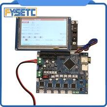 Duet 2 Wifi V1.04 клонированный DuetWifi Расширенный 32 бит электронный с 4,3 «5» 7 «PanelDue контроллер сенсорного экрана для BLV MGN Cube